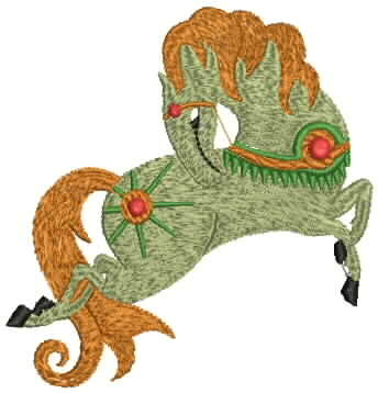 Fantsatic Horse embroidery design